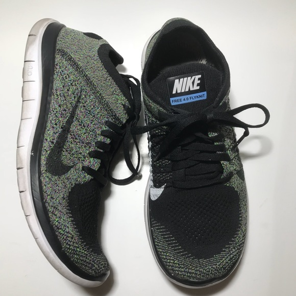 52ce9a915c1f4 NIKE free 4.0 flyknit women running shoes size 8.5